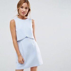 ASOS Embellished Trim Mini dress